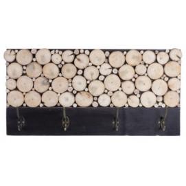 Вешалка для одежды Монпансье 60 см черная SS002410 Woodville