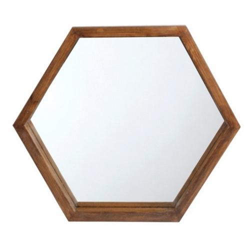 Зеркало Сота натуральное 27 см SS002155 WilleWood