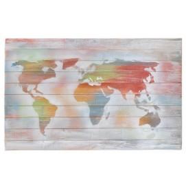 Панно настенное Карта цветное (110х70см) SS002530 Woodville