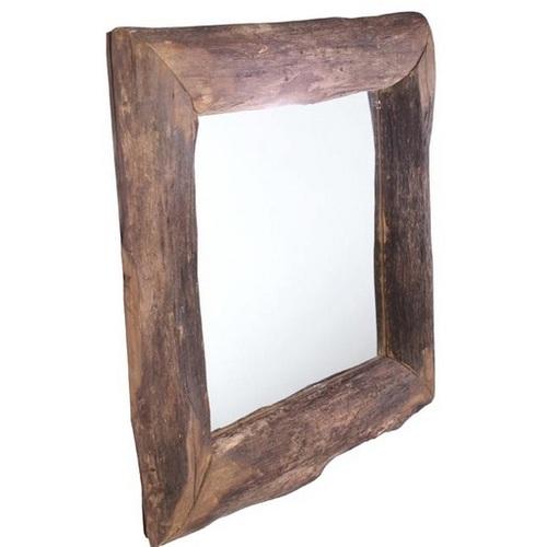 Зеркало в раме Дуб 30х30 см натуральное SS000473 WilleWood