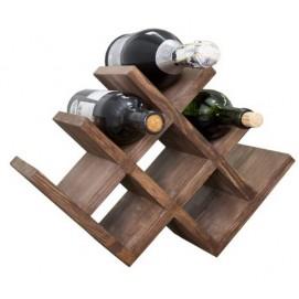 Подставка для вина Чикаго коричневая (42х29х20) SS001983 Woodville