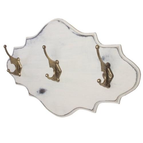 Вешалка для одежды Прованс белая SS000516 Woodville