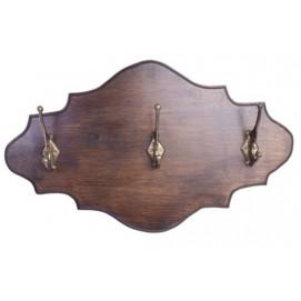 Вешалка для одежды Прованс коричневая SS000516 Woodville