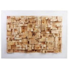 Панно настенное Куб белое 50х50 см SS000652 WilleWood
