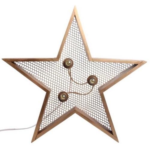 Светильник настенный Детройт Звезда 60 см натуральный SS002574 WilleWood