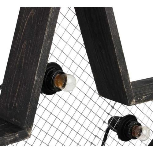 Светильник настенный Детройт Звезда 60 см черный SS002574 WilleWood