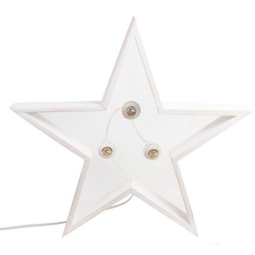Светильник настенный Детройт Звезда 60 см белый SS002574 WilleWood