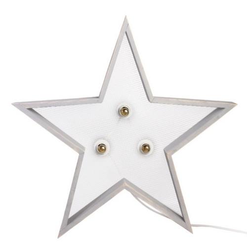 Светильник настенный Детройт Звезда 60 см серый SS002574 WilleWood