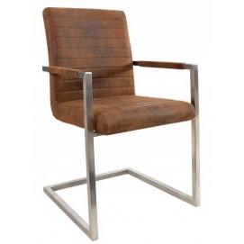 Кресло офисное Imperial 90cm (Z37078) коричневое Invicta