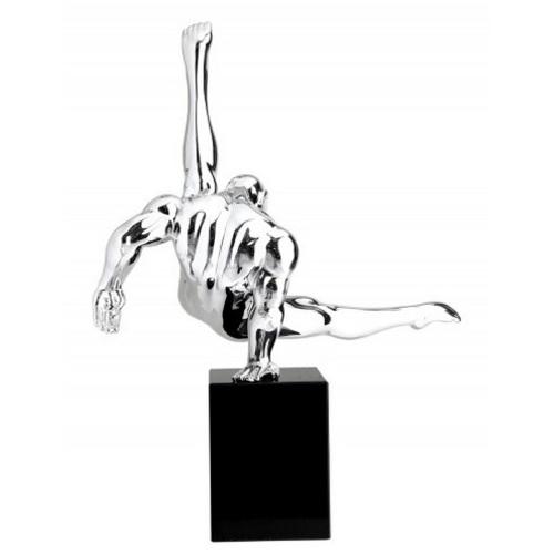 Статуэтка Athlet Turner 70cm (Z36730) серебро Invicta