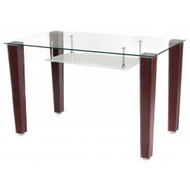 Стол обеденный T-285 прозрачный Verde