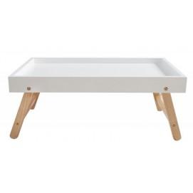 Стол сервировочный Igloo Wood белый 60cm (Z36443) Invicta
