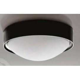 Настенно-потолочный светильник Azzardo LW8021-M BK LEO черный