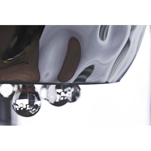 Светильник потолочный Azzardo Caldo 40 Top (LP/LC 2436-5PX TOP) хром