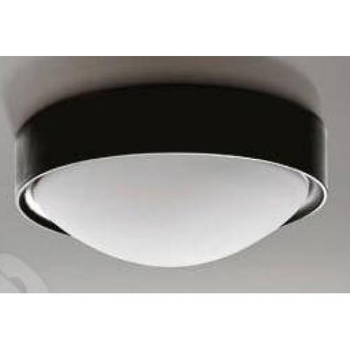 Настенно-потолочный светильник Azzardo Leo L (LW8021-L BK BLACK) черный