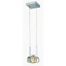 Лампа подвесная Azzardo Rubic 1 (1798-1P) прозрачная