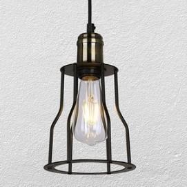 Лампа подвесная 750MD42895-1 BK черная Thexata