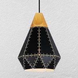Лампа подвесная 7529081-1 BK черная Thexata