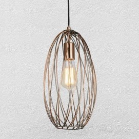 Лампа подвесная 75042843-1A BRONZE бронза Thexata