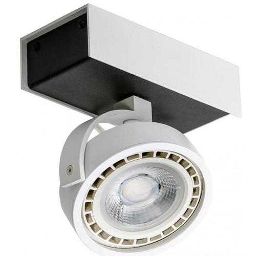 Прожектор Azzardo Max 1 12V Max 12V (GM4114 BK/WH 12V) белый