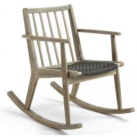 Кресло качалка CC0200J15 - PHYLIP натуральная Laforma