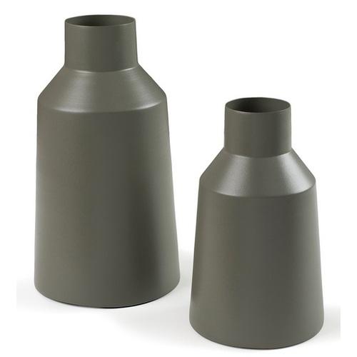 Набор ваз AA1213R20 - SOCO 2шт серый Laforma