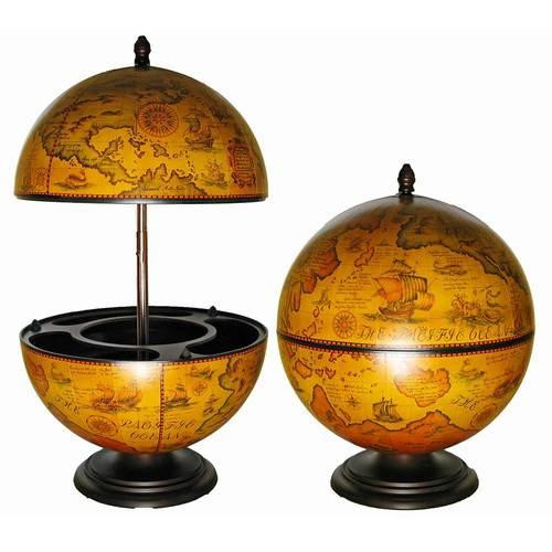 Глобус бар (42*42*50) коричневый 18900