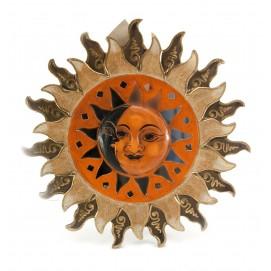 """Зеркало мозаичное """"Солнце и Луна"""" (d-30 cм) цветное 29918"""
