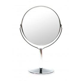 Зеркальце круглое настольное металл 25032