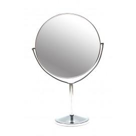 Зеркальце круглое настольное металл 26309