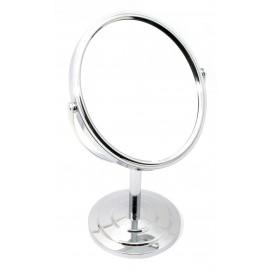 Зеркальце овальное настольное металл 29755