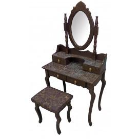 Столик туалетный коричневый 30365