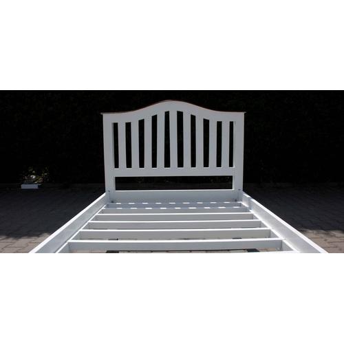 Кровать 90х200 см HS-63-IMŁÓŻ38 белая Indy