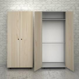 Шкаф для одежды J101 натуральный Craftmart