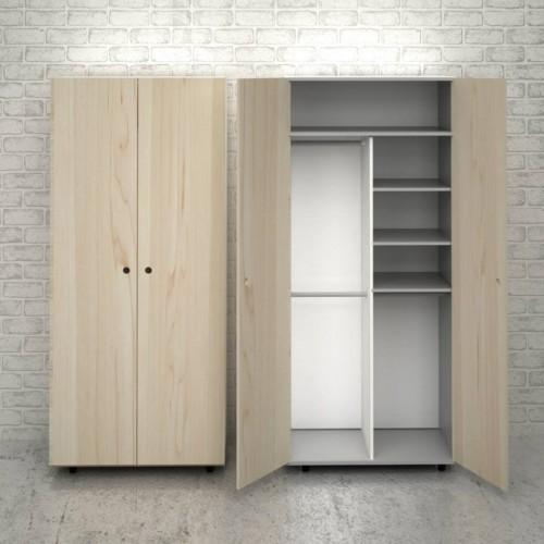 Шкаф для одежды J102 натуральный Craftmart
