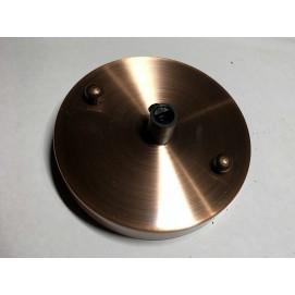 Потолочный крепеж AMP основание круг 100мм old red copper медь