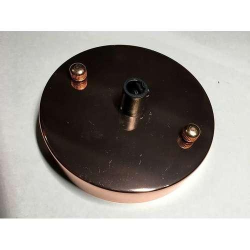 Потолочный крепеж AMP основание круг 100мм rose gold золото