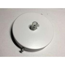 Потолочный крепеж AMP основание круг 100мм white белый