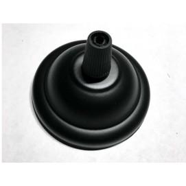 Потолочный крепеж AMP основание круг 65мм black черный