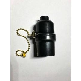Патрон AMP 39 бакелит черный
