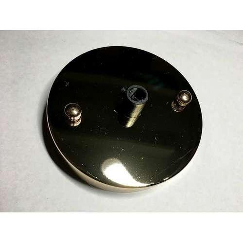 Поточный крепеж AMP основание круг 100мм french gold золото