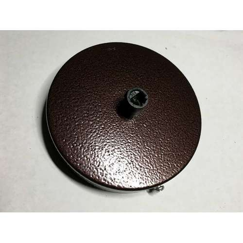 Потолочный крепеж AMP основание круг 100мм hammer коричневый