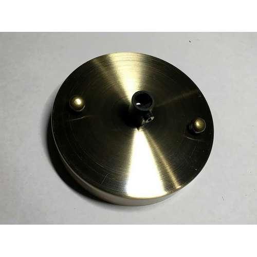 Потолочный крепеж AMP основание круг 100мм old bronze бронза