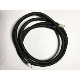 Провод текстильный AMP 2x0.75 черный