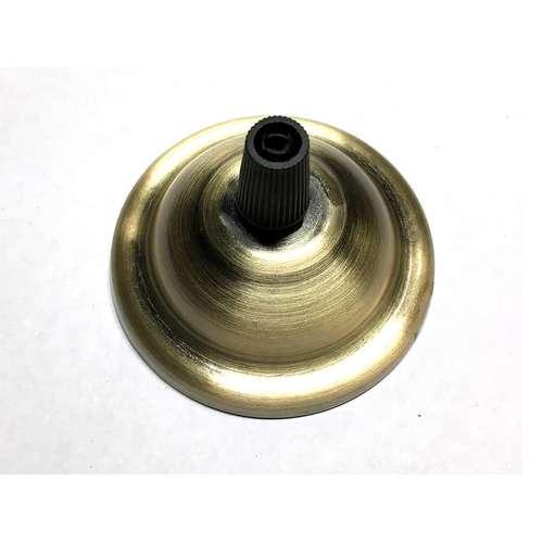Потолочный крепеж AMP основание круг 65мм old bronze бронза