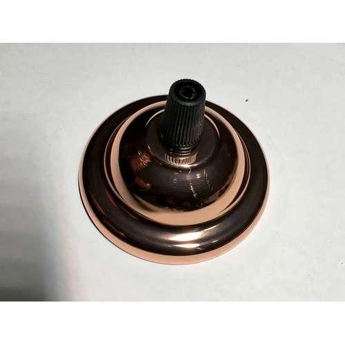 Потолочный крепеж AMP основание круг 65м rose gold холото