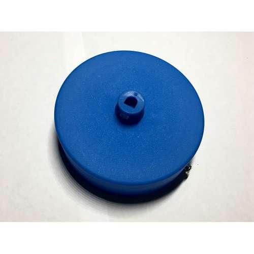 Потолочный крепеж AMP основание круг пластик blue голубой