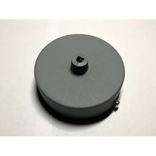 Потолочный крепеж AMP основание круг пластик gray серый