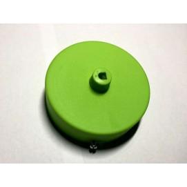 Потолочный крепеж AMP основание круг пластик green салатовый