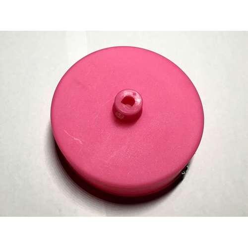 Потолочный крепеж AMP основание круг пластик pink розовый